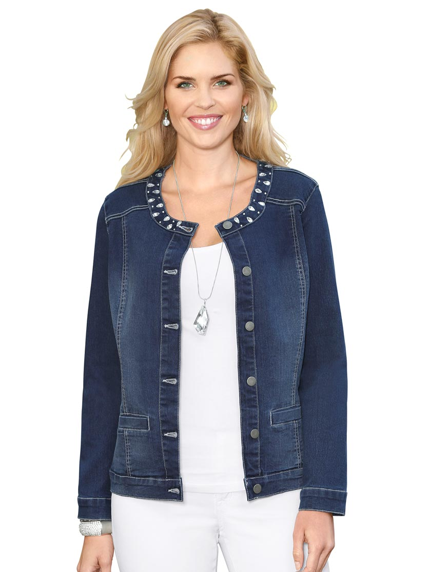 sale retailer 95764 bfbcf Giacca di jeans