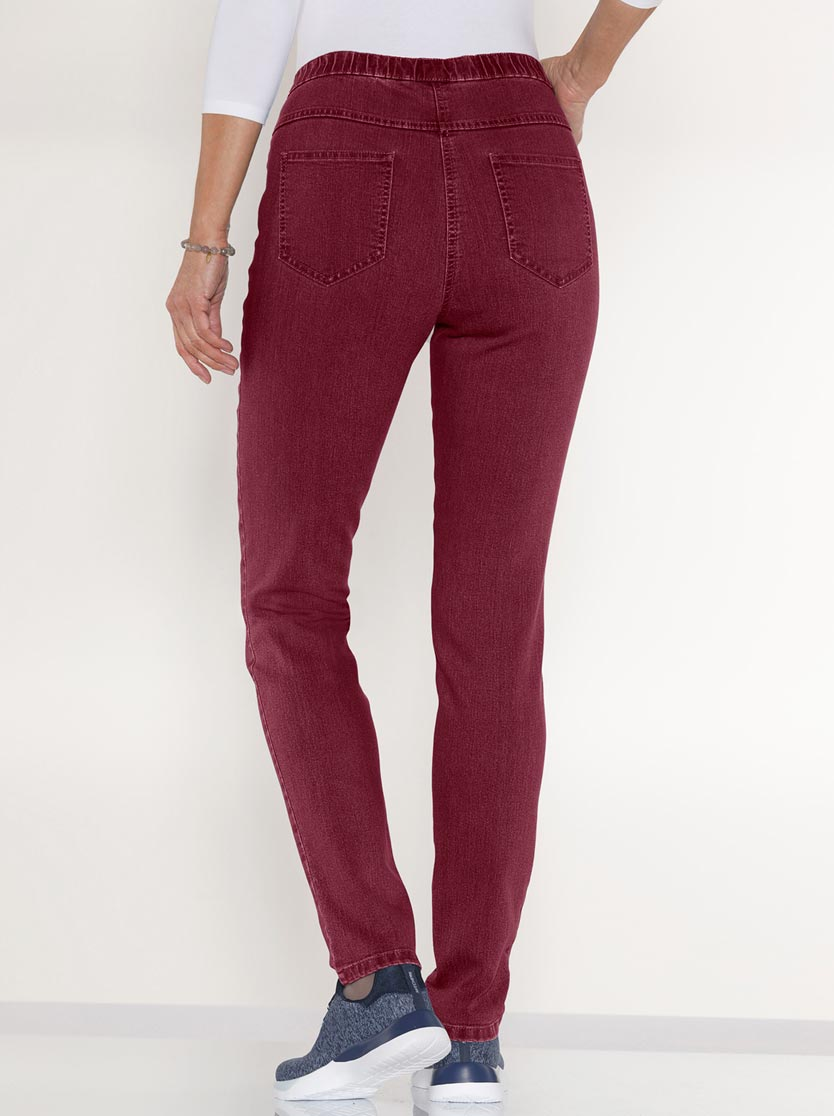 Jegging femme 2 poches coupe slim