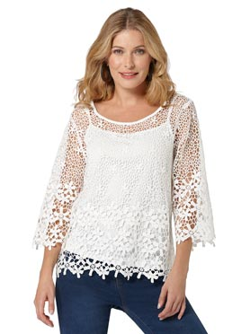 Blouse + top