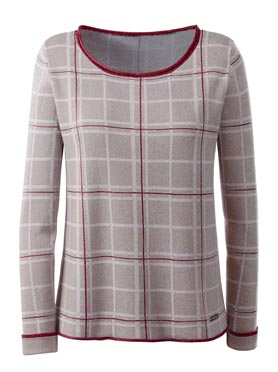 Pull féminin ultra-doux manches longues